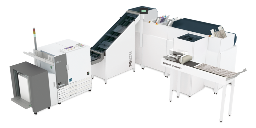The Bridge system druku i personalizacji kopert RISO